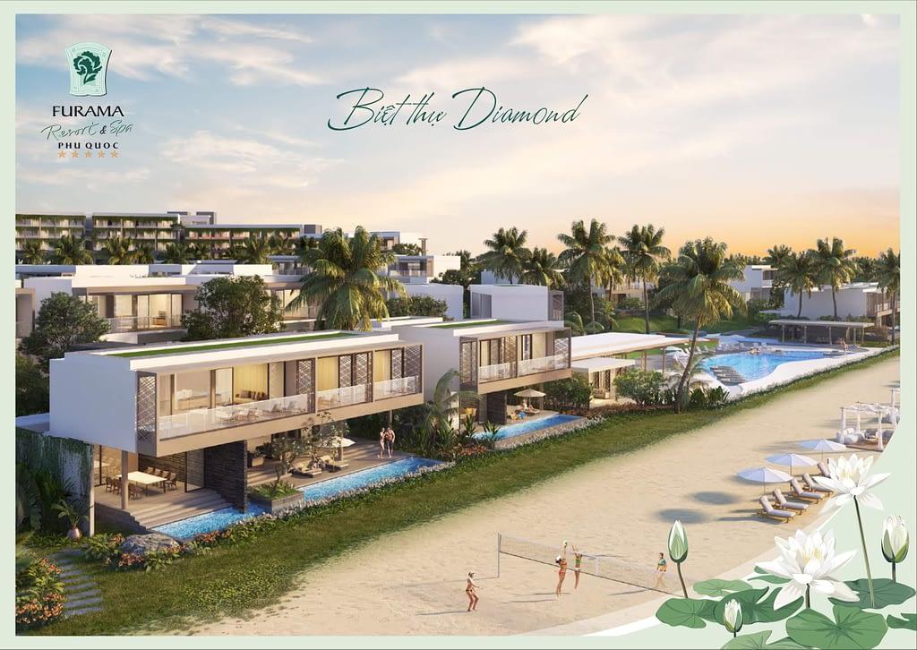 phoi canh villa 4 phong furama phu quoc